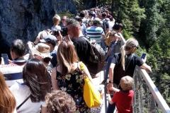 Passerelle du château de Neuschwanstein