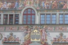 Maison bavaroise de Lindau, détails