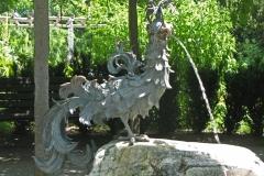 Sculpture de l'île de Mainau