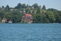 Rive du lac de Constance à proximité de Lindau