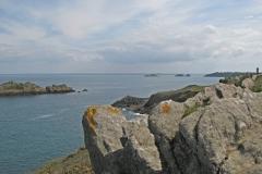 Pointe du Grouin, vue sur la baie du Mont-Saint-Michel