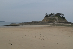 Le Fort du GUESCLIN par basse mer