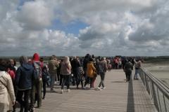 Passerelle du Mont Saint-Michel !!!