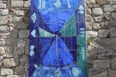 """Cadran solaire """"Blue Time"""" d'Angel Ponce de Leon"""