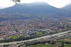 Vue de Trento à partir de Sardagna