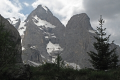Marmolada, point culminant des Dolomites 3342 m