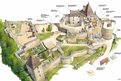 Castelnaud-plan