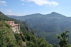 Castello Gourbon et gorges du Loup