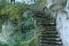Grand escalier : un des plus grands escaliers monolithiques d'Europe