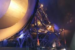 Pleumeur-Bodou : système de suivi du satellite Telstar