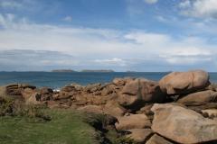 Les sept îles vues de l'île Renote