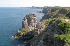 Cap Fréhel : vue sur la baie de Saint-Malo