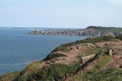 Du Cap Fréhel vu sur le Fort de la Latte construit au XIV siècle
