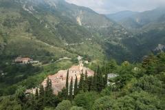 Sainte-Agnès vue de son château