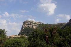 Saint-Jeannet au pied de son Baou