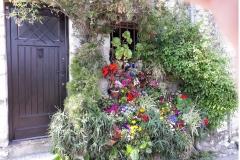 Maison fleurie de Saint-Paul-de-Vence
