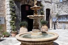 Fontaine de la cité historique